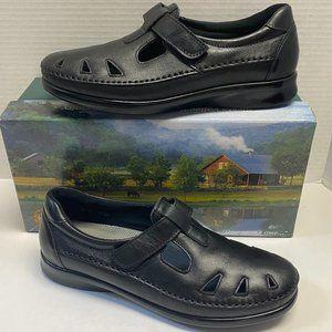 SAS Roamer Black Comfort Loafer